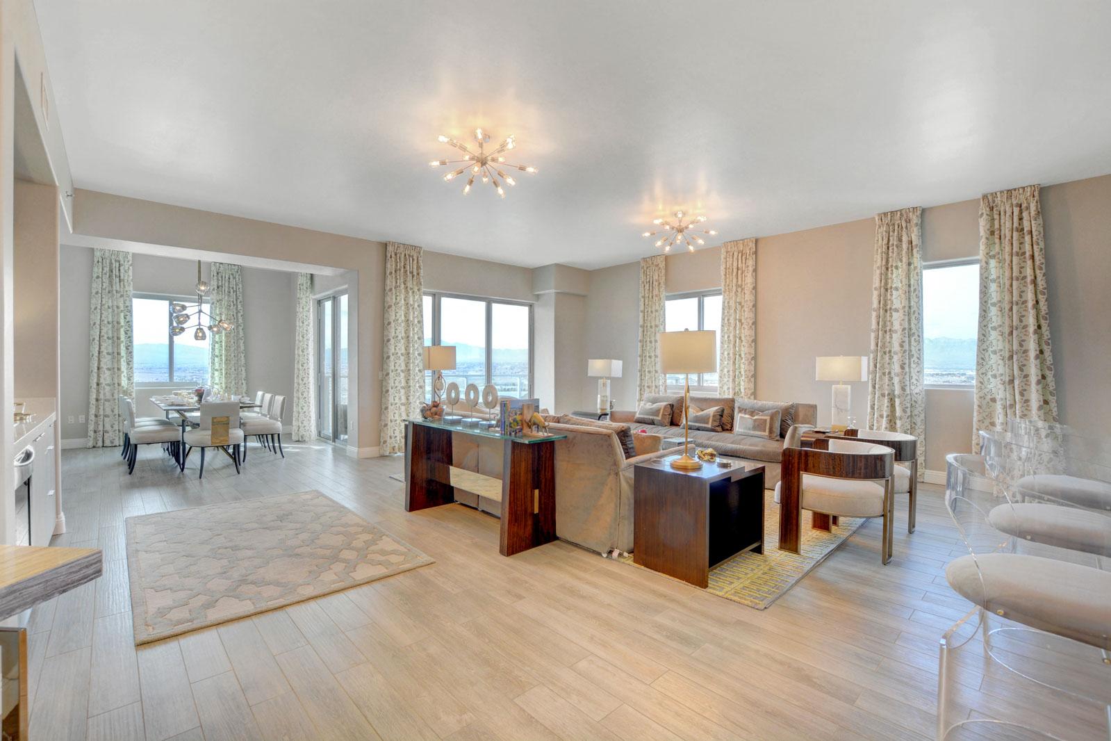 penthouse kitchen luxury finishes