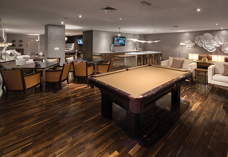 Sports Lounge available at One Las Vegas.