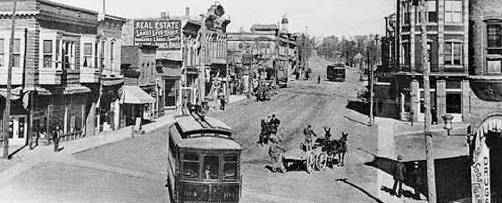 What the Las Vegas Strip looked like when it was first being developed.