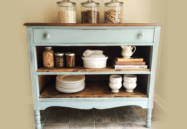 Dresser coffee bar craft
