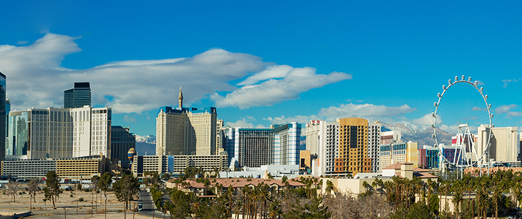 Las Vegas skyline during the day
